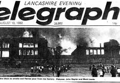 Mercers Transport , Northrop Fire 1982