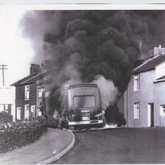 Belthorn Bus Fire 1975