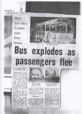 Belthorn Bus Fire 1975