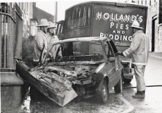Green Watch Car Crash 1989 Gorse St Blackburn