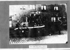Blackburn's Horse Drawn Fire Engine Circa 1890's