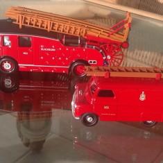 The Real  Blackburn Pump Escape and Bedford Van.