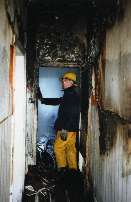 Leading Fireman Jim Owen 1980's