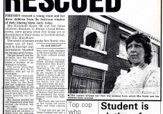 Norfolk Street , Mill Hill Familly Rescued  1984