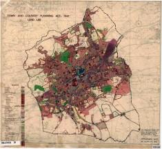 Borough Of Blackburn Map 1947