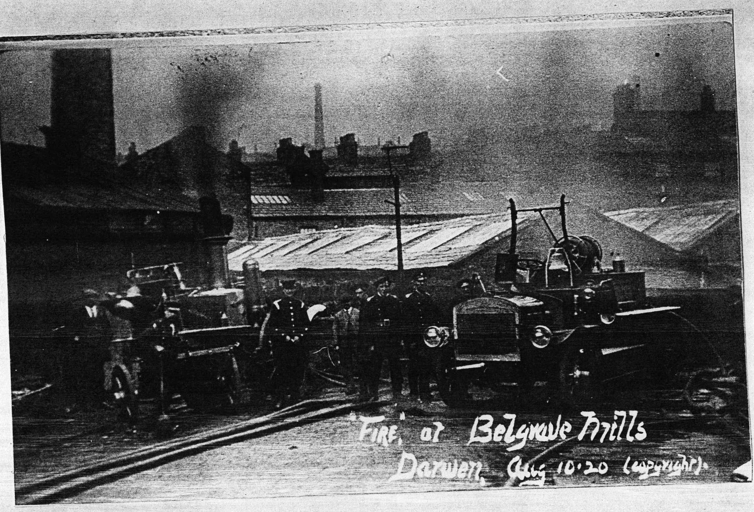 Belgrave Mills, Darwen  1920