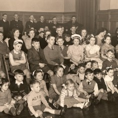 1952 Children's Christmas Party