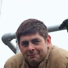 Firefighter Simon Hatt
