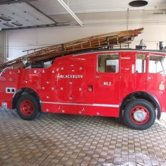 Sad day HCB 500 the last fire appliance to leave the old station