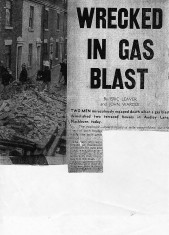 Audley Lane Wrecked In Gas Blast