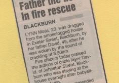 Exeter Street Fire 1995