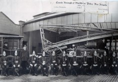 Blackburn Borough Police Fire Brigade 1925