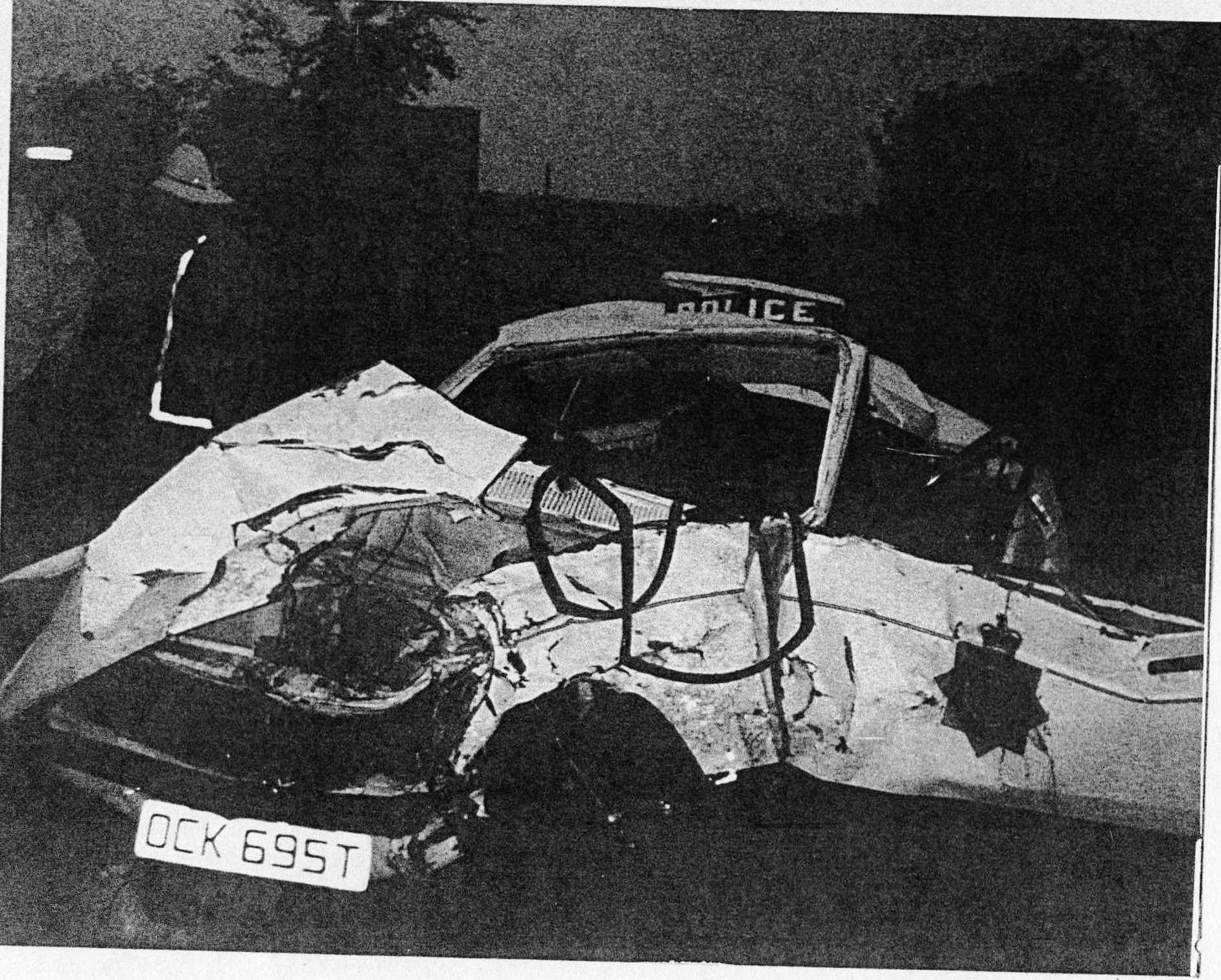 Police Car Road Traffic Accident