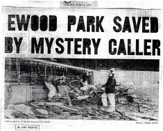 Ewood Park Saved By Mystery Caller