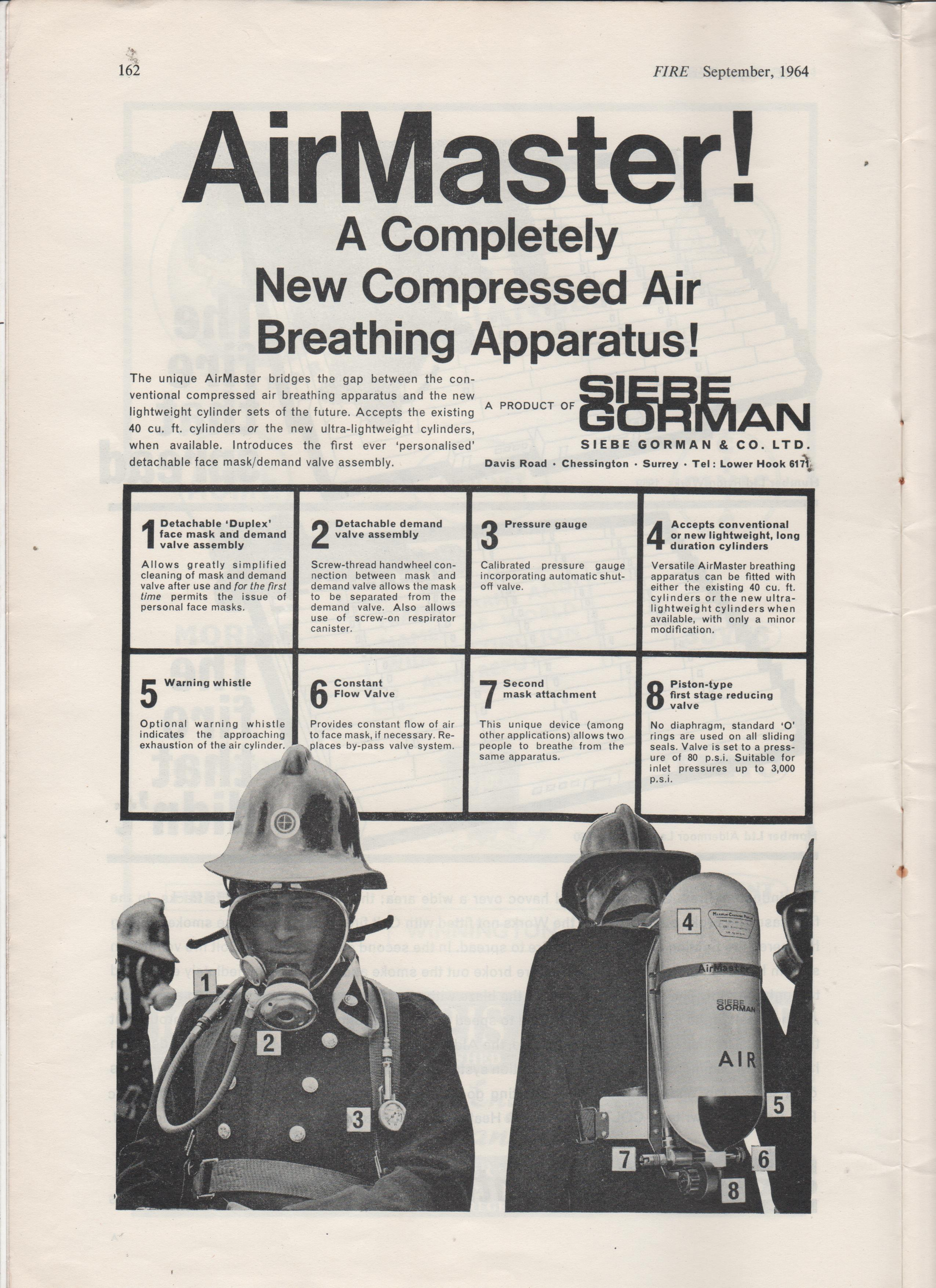 Equipment Advertisements From 1964