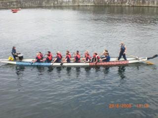 Dragonboat Race ,International Firefighter Games , Liverpool
