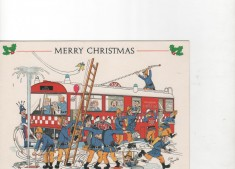 Fire Service Christmas Cards