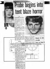 A Boy Dies In A Tent Fire In Guide