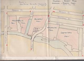 Highfield, Albert,Infirmary and Atlantic mills