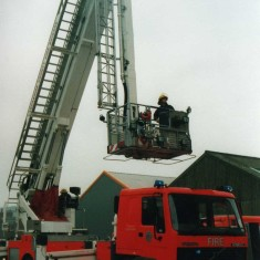 The new Aerial Ladder Platform shows its credentials