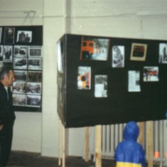 showing the type of display units we had then built by the firemen on the station