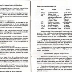 Blackburn Fire Station Open Day 1992 Programme