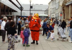 Fire Prevention Day King William Street 1990's