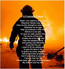 A Firemans Prayer