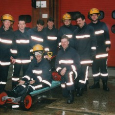 white watch check on the ram fan rally