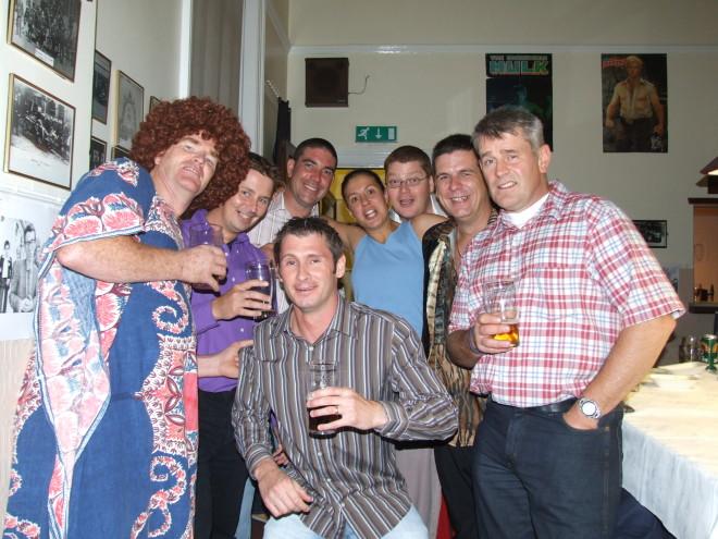 Bye Bye Paramedics 70's party
