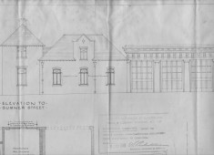Alterations To Fire Station 1948