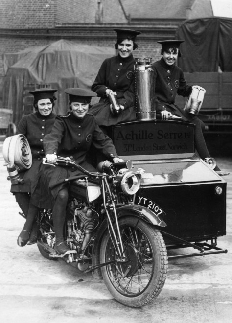 Photos Of Women In The Fire Service 1920's-1960's