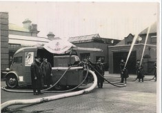 Drill Blackburn Fire Station Yard 1941