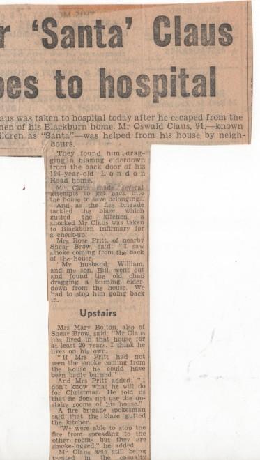 Santa Claus Taken To Hospital 1974