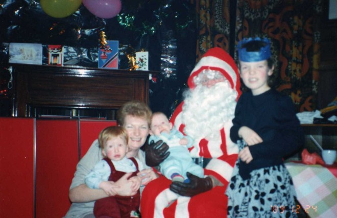 Merry Christmas From Blackburn Fire Station Down The Years