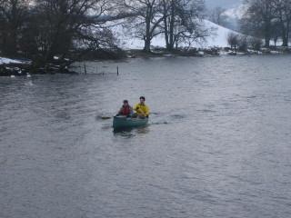 A Cold Canoe Trip