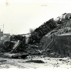 Train Crash  Bolton Rd Sidings Blackburn