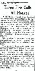 Malicious fire calls.