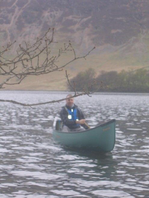 Crummockwater 2006 White And Blue Canoeing