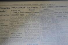 Darwen Fire Engine Hearse