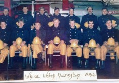 Accrington White Watch 1986