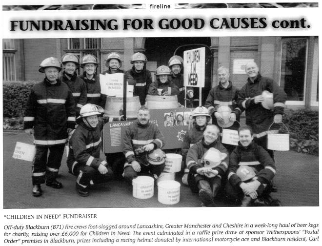Fundraising Children In Need 1999