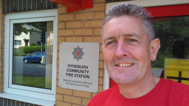 Lancashire Fire Station Walk