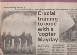 Colin's Memories Of His Training Centre
