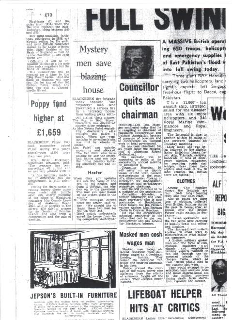 Mystery Men Save Blazing House