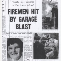 Firemen injured in blast