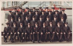 Training Centre Recruits With Staff 1984 Or 85