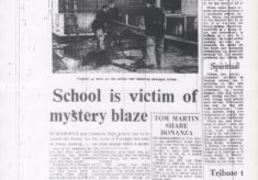 Mystery Blaze At Lammack High School