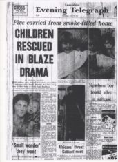 Kirby Road Children Rescued In Blaze Drama