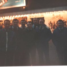 Red Watch London Trip 1980s